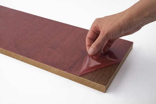 colored protective film for wood